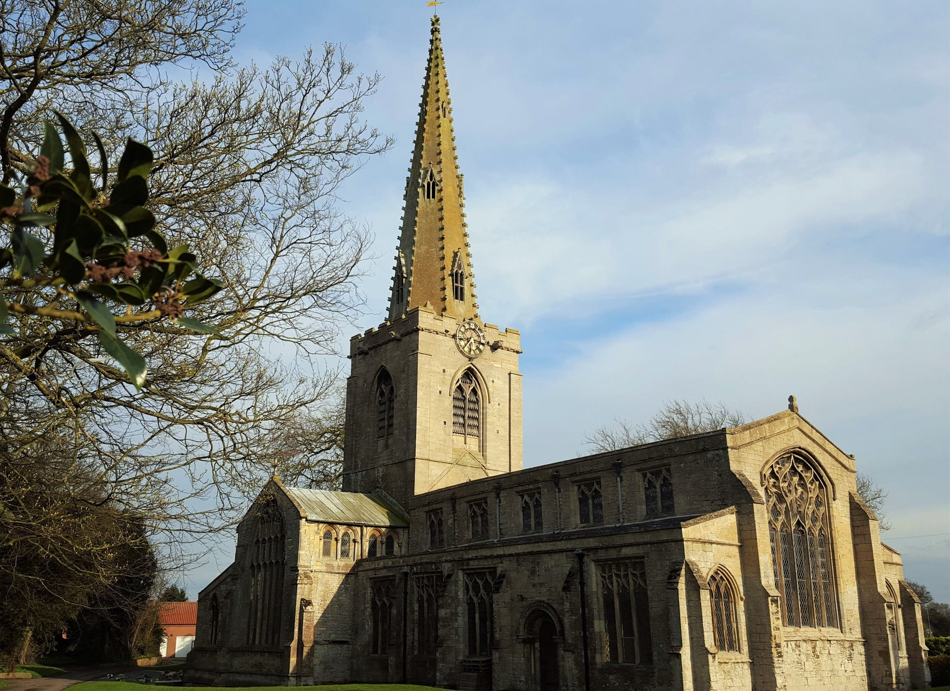 The Church of St Mary the Blessed Virgin, Parish Church of Sutterton, Lincolnshire