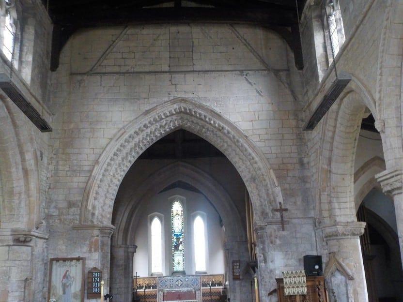 sutterton church arch