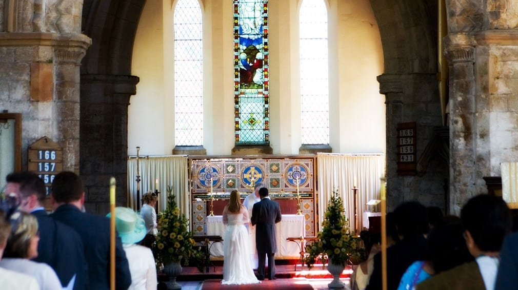 church wedding services lincolnshire