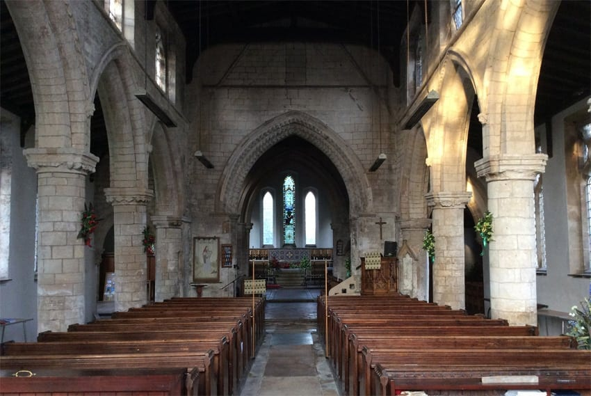 Sutterton Parish Church History